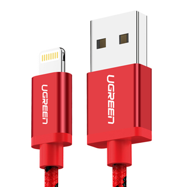 Ugreen Lightning Cable 2m Red 40481