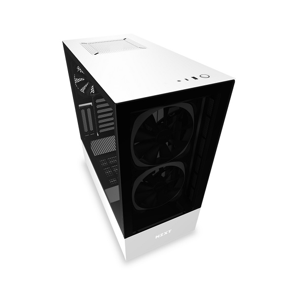 Nzxt Matte White H510 Elite Mid Tower Chassis (smart Device) CA-H510E-W1