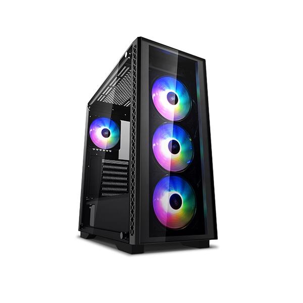 Deepcool Black Matrexx 50 ARGB 4f Mid Tower Chassis ATX-MATREXX50-AR-4F-NE