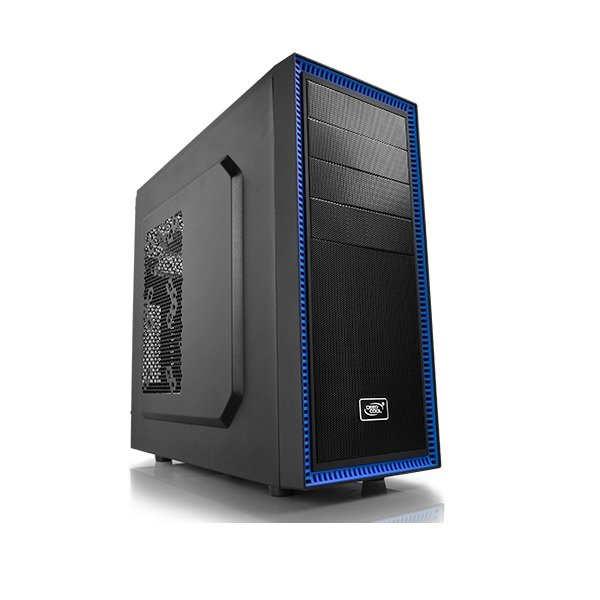 Deepcool Black Tesseract Bf Mid Tower Chassis CCATX-TSRBFBK
