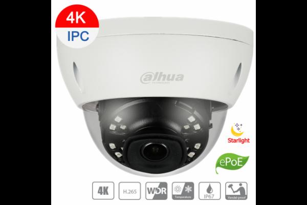Dahua 8mp Ip Starvis Dome Fixed 4mm Lens Sd Card AA-DH-IPC-HDBW4831EP-ASE-0400B