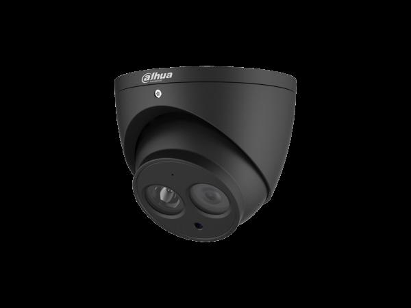 Dahua 4mp Starlight Ip Turret 2.8mm Lens Bulit-in Mic Black DH-IPC-HDW2431EMP-AS-0280B-S2-AUS-BLK