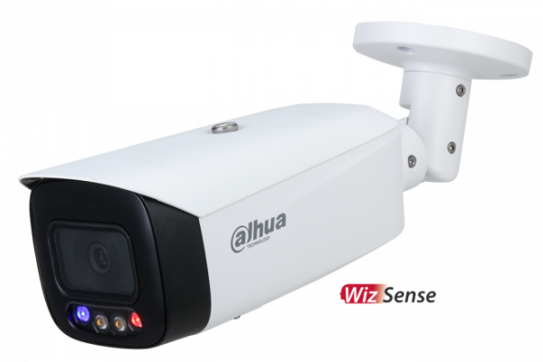 Dahua 5mp Ai Active Deterrence Full Color Starlight Ip Bullet Fixed DH-IPC-HFW3549TP-AS-PV-0280B