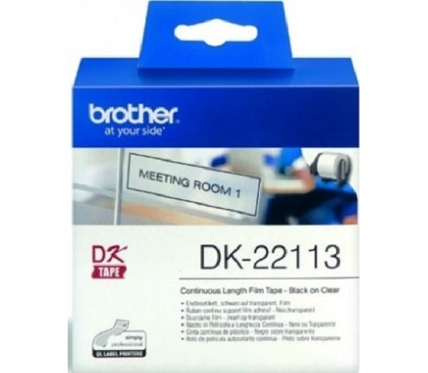 Brother Clear Continuous Film Roll 62mm X 15.24mm DK-22113