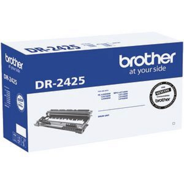 Brother Mono Drum Unit To Suit Hl-l2350dw/l2375dw/2395dw/mfc-l2710dw/2713 DR-2425