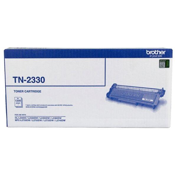 Brother Mono Laser Toner- Standard Cartridge To Suit Hl-l2300d/l2340dw/l2 TN-2330