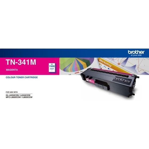 Brother Standard Yield Magenta Toner To Suit Hl-l8250cdn/8350cdw Mfc-l860 TN-341M