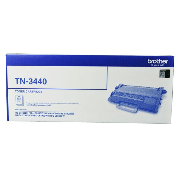 Brother Mono Laser Toner - High Yield Up To 8000 Pages - To Suit With Hl- TN-3440
