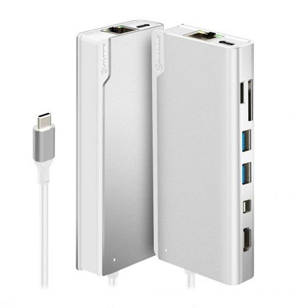 Alogic Ultra Usb-c Dock Plus Silver ULDPLS-SLV