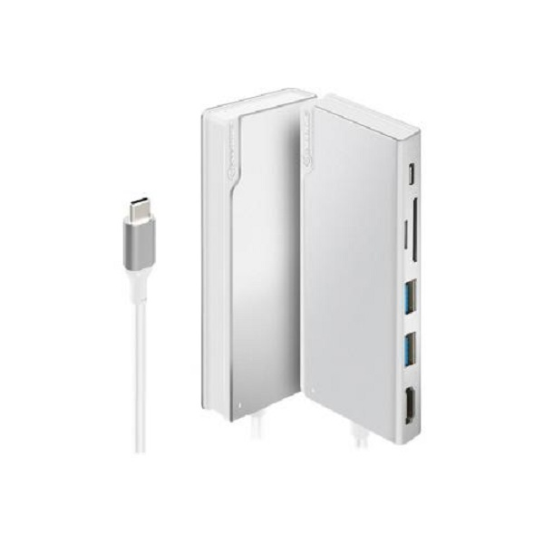 Alogic Ultra Usb-c Dock Uni Silver ULDUNI-SLV