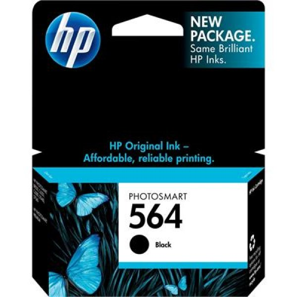 HP 564 Black Ink Cartridge Tri Pack 750 Page Yield CZ079WA