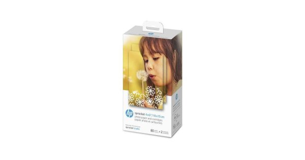 HP Sprocket 4x6in 102x152mm Photo Paper And Cartridges 4KK83A