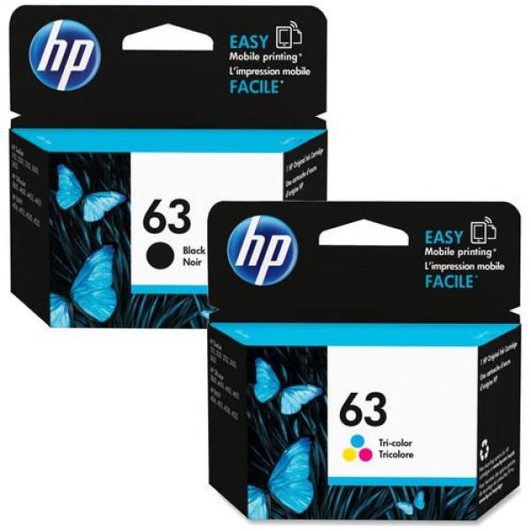 HP 65 Black & Colour Ink Pack 3JB07AA