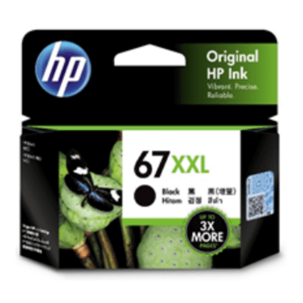 HP 67xxl Black Original Ink Cartridge 400 Page Yield 3YM59AA