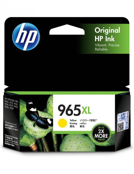 HP 965xl Yellow Original Ink Cartridge 1600 Pages 3JA83AA