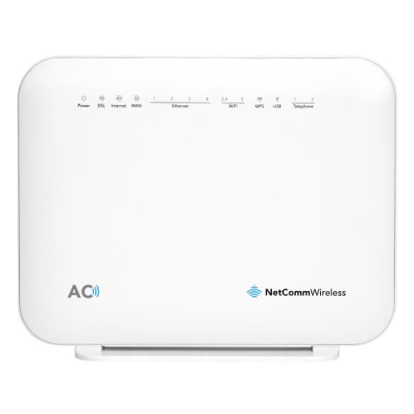 Netcomm NF18ACV AC1600 Wifi Vdsl/adsl Modem Router