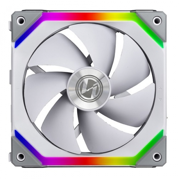 Lian Li 120mm RGB UNI Fan SL120 LED Case White 12UF1W