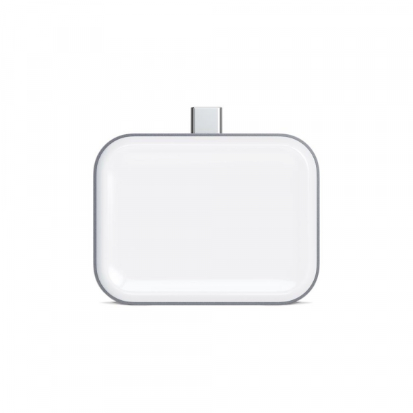 Satechi Usb-c Wireless Charging Dock For Airpods (space Grey) ST-TCWCDM