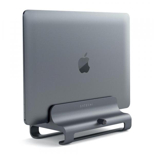 Satechi Slim Aluminium Vertical Laptop Stand (space Grey) ST-ALVLSM