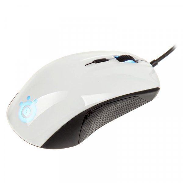 STEELSERIES Rival 100 Gaming Mouse White ( 62335