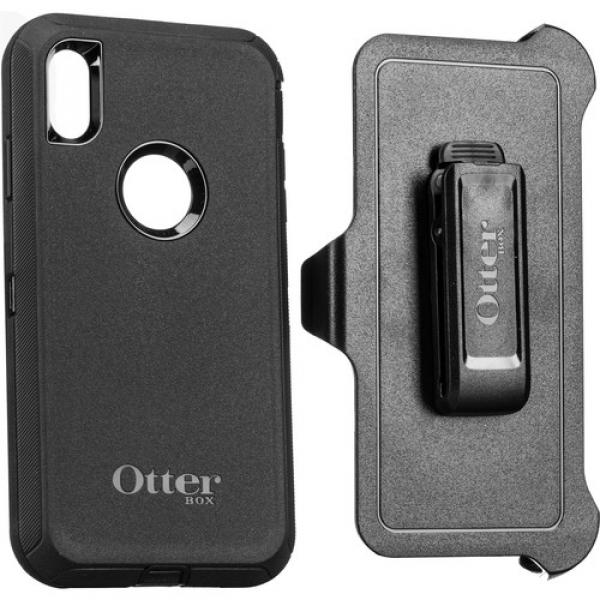 Otterbox Defender Case Apple Iphone Xs Max Black (77-59971)