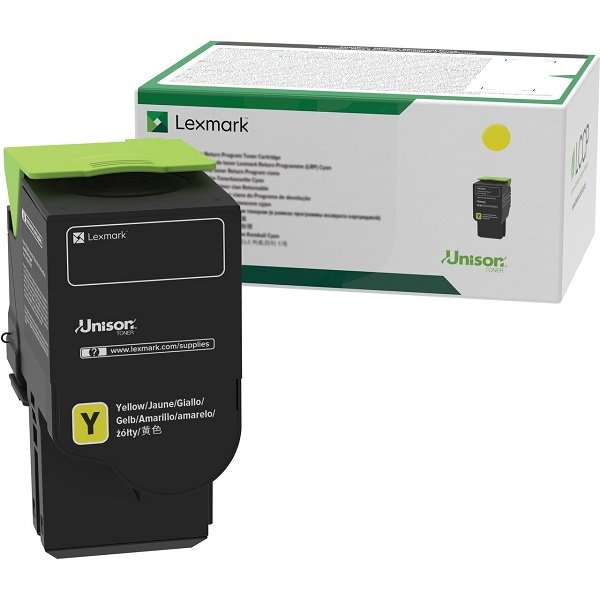 Lexmark Yellow Ultra High Toner 7k For Cs521 Cs622 C ( 78c6uye )