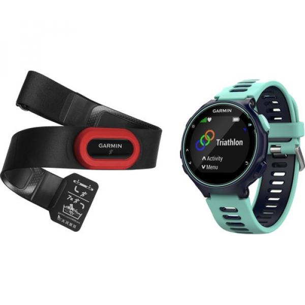 GARMIN Forerunner 735XT Sport Watch Run Bundle (010-01614-13)