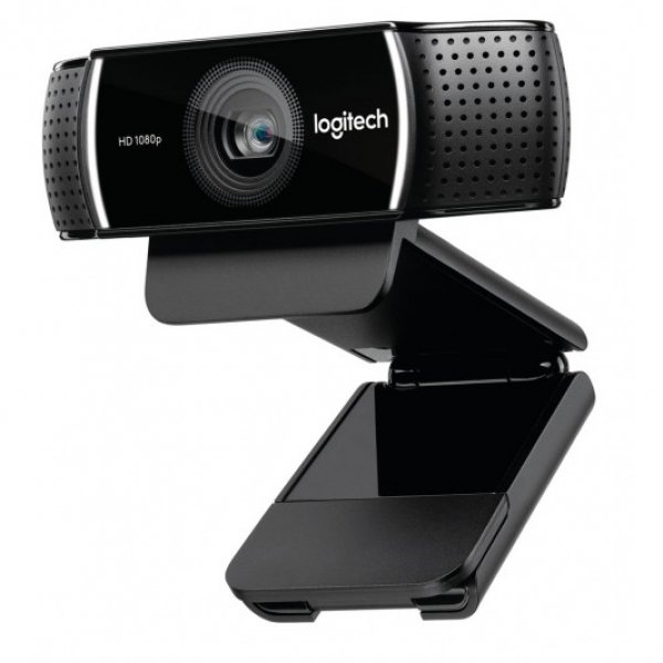 Logitech  C922 Pro Stream Full Hd Webcam 30fps At 1080p Autof ( 960-001090 )