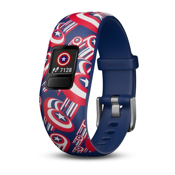 GARMIN Vivofit Jr. 2 Activity Tracker Captain America Band (010-01909-32)