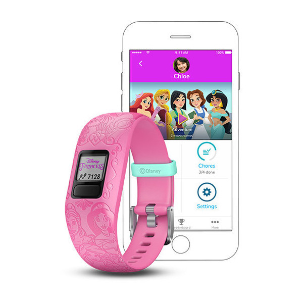 GARMIN Vivofit Jr. 2 Princess Ariel Belle Jasmine Mulan And Rapunz (010-01909-33)