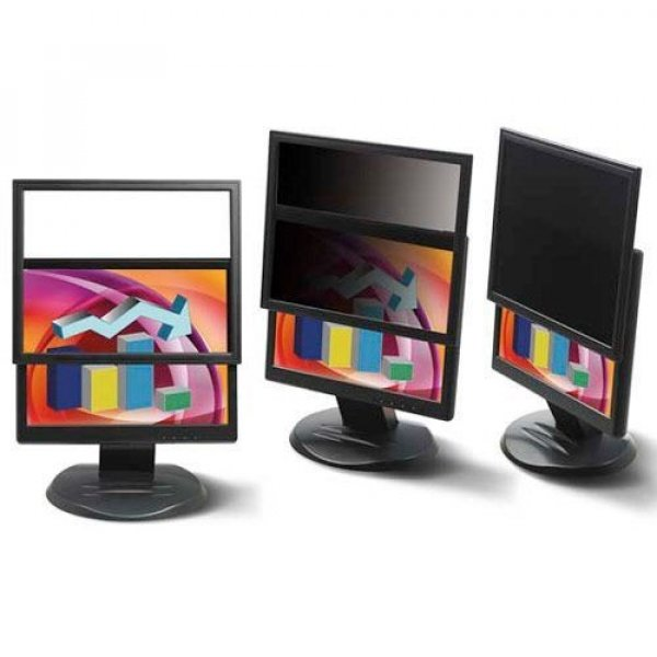 """3M 22"""" Widescreen Framed Privacy 98044049132"""