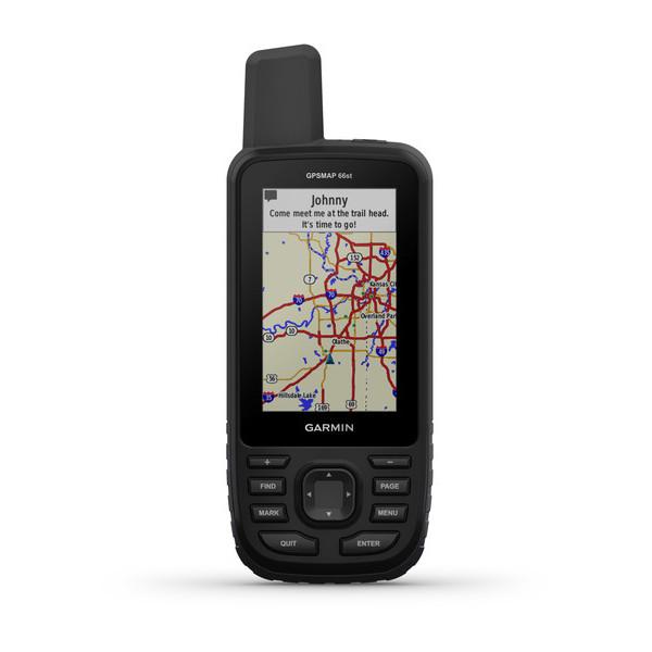 GARMIN GPSMAP 66st With Topo Australia and New Zealand Maps (010-01918-15)