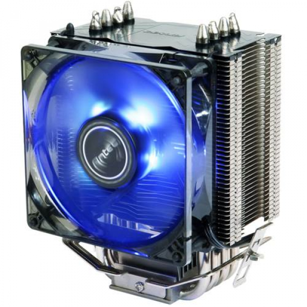 Antec A40 Pro Air Cpu Cooler 120mm Blue Led Fan. 77cfm. Inte ( A40-pro )