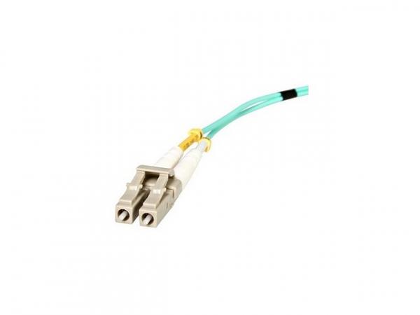 STARTECH 1m 10 Gb Aqua Multimode 50/125 Duplex A50FBLCLC1