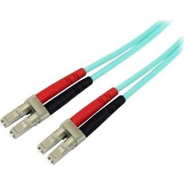 STARTECH 10m 10 Gb Aqua Multimode 50/125 Duplex A50FBLCLC10
