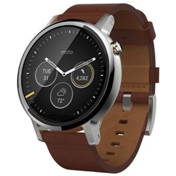 MOTOROLA Moto 360 (2nd Gen) Smart Watch 46mm (AP3599AD6Y6)
