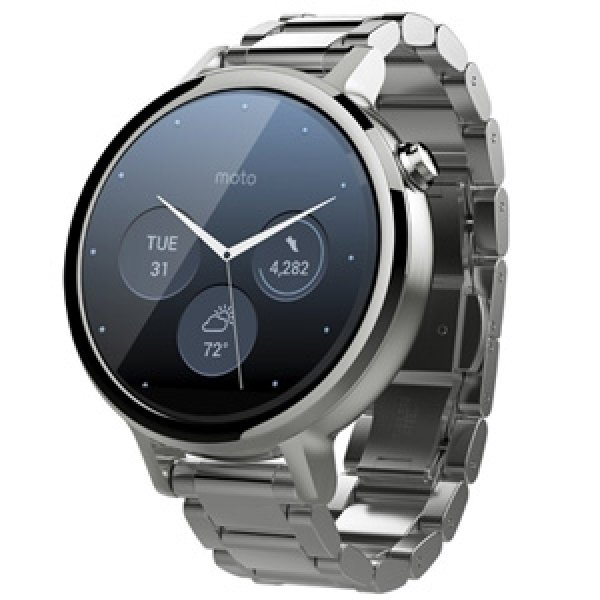 MOTOROLA Moto 360 (2nd Gen) Smart Watch 42mm (AP3613AT6Y6)