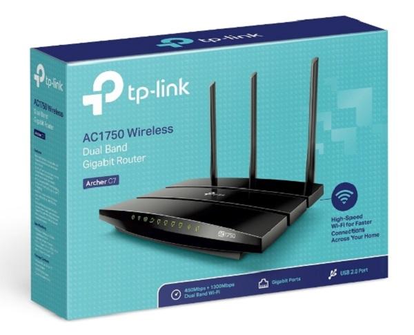 Tp-link AC1750 Dual Band Wireless Gigabit Router (ARCHER C7)