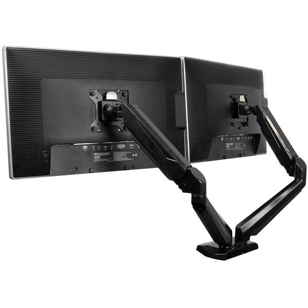 STARTECH Dual Monitor Mount With Built-in 2-port ARMSLIMDUO