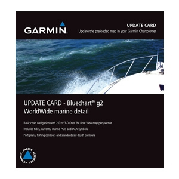 GARMIN Worldwide Marine Detail Map G2 (010-10800-74)