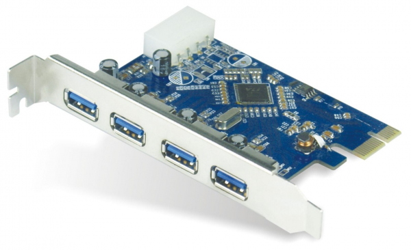 ASTROTEK  Usb 3.0 4 Port Pcie Add-on Card AT-U3PCICARD