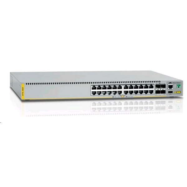 ALLIED TELESIS 24-port 10/100/1000t Switch With AT-X510L-28GT-N1
