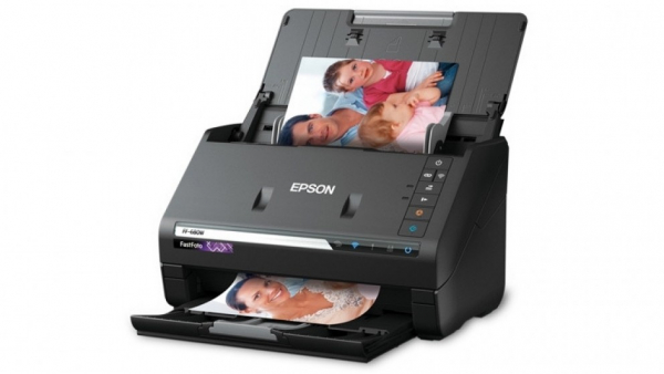 Epson  Ff-680w Fastfoto Wireless Photo And Document Scanner ( B11b237501 )