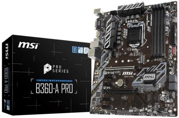 MSI Intel B360 ATX Mother Board (B360-A PRO)