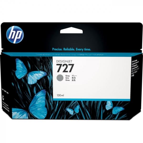 HP  727 130-ml Gray Ink Cartrid B3P24A