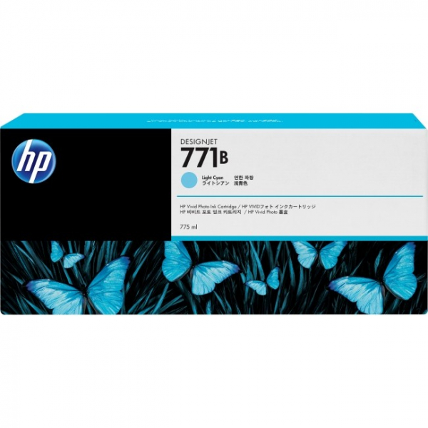 HP  771 Light Cyan Designjet 775 Ml B6Y04A