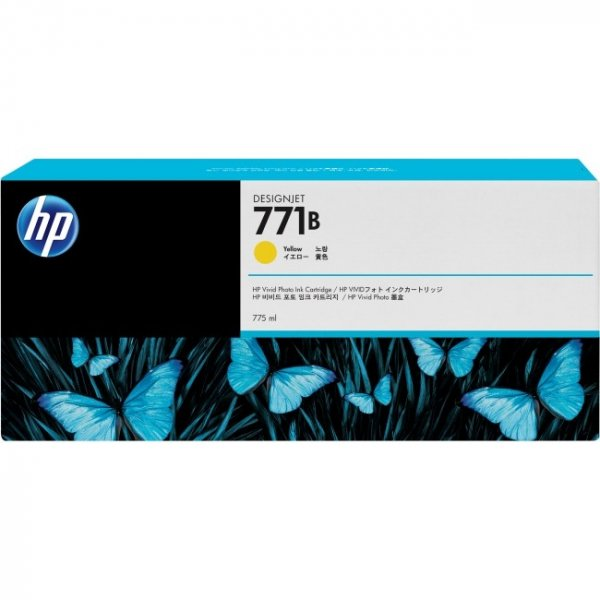 HP  771b Yellow Ink Triple Pack 775 Ml B6Y26A