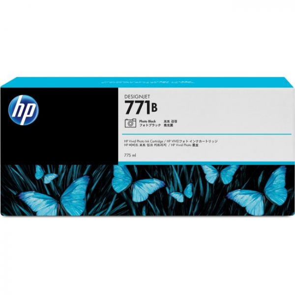 HP  771b Photo Black Ink Triple Pack 775 Ml B6Y29A