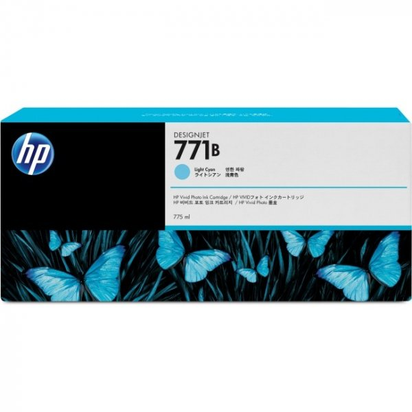 HP  771b Light Grey Ink Triple Pack 775ml B6Y30A
