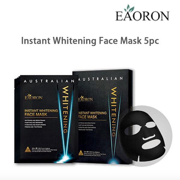 Eaoron Instant Whitening Face Mask 5pc ( Beaeaomaskbk )